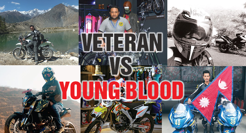 Young blood VS Veteran